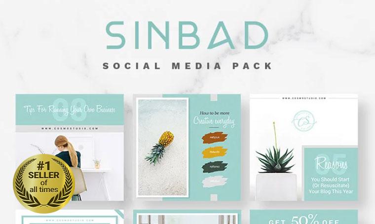 SINBAD Social Media digital bestseller