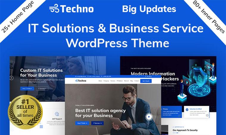Techno IT WordPress theme