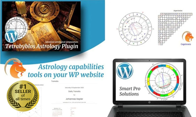 Tetrabyblos - Astrology WordPress plugin digital bestseller