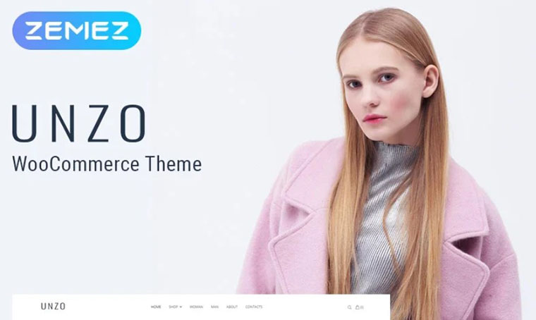 Unzo Apparel Shop WooCommerce Theme
