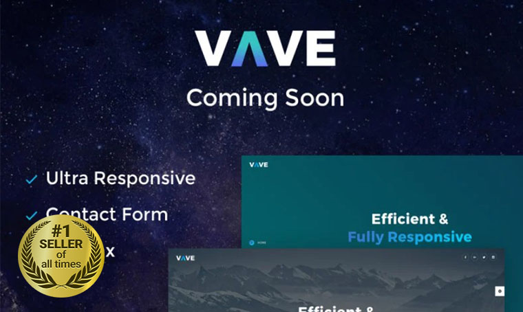 VAVE Coming Soon Specialty Page