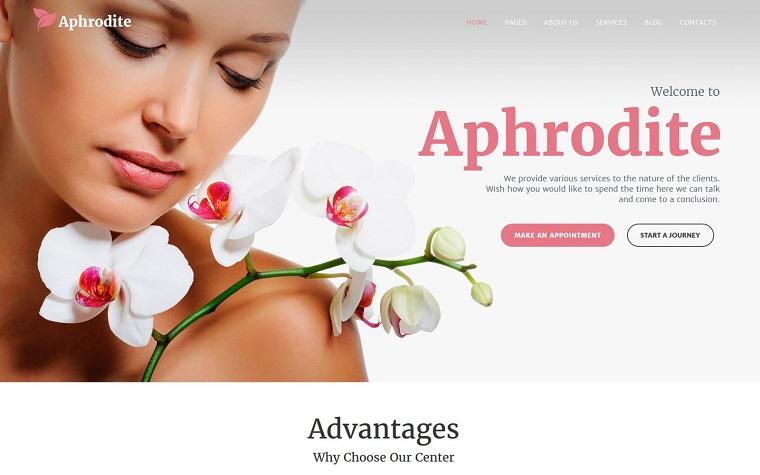 Beautiful Aphrodite - Beauty & SPA Salon Responsive WordPress Theme