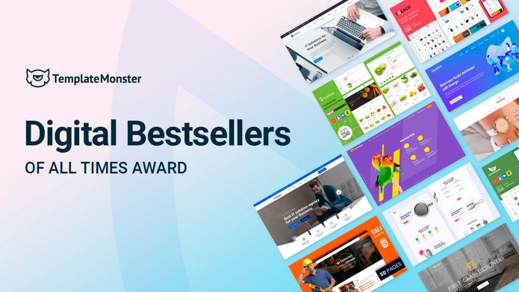 Digital Bestsellers of All Times Award