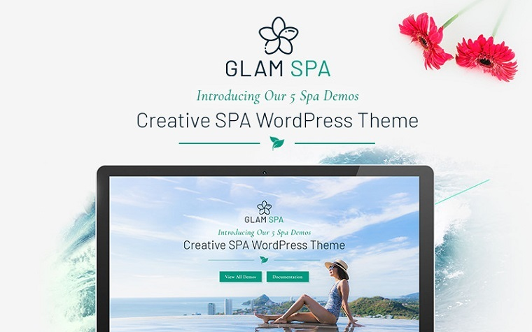 Terrific GlamSpa - WordPress Theme