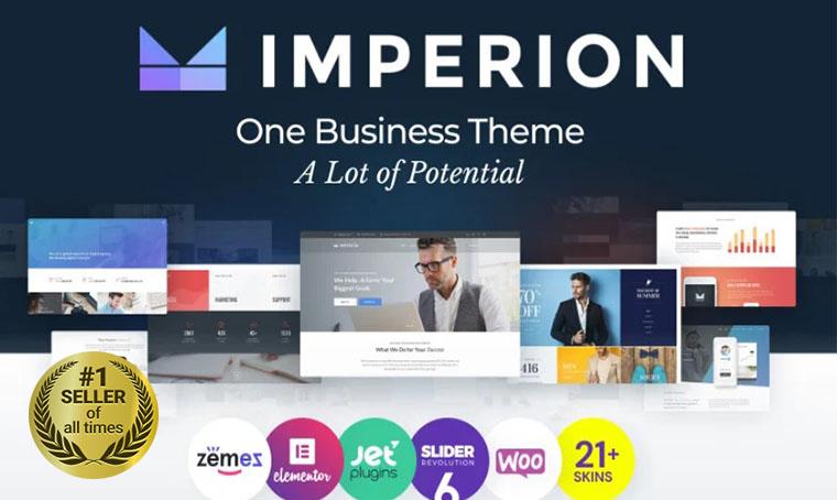Imperion WordPress digital bestseller