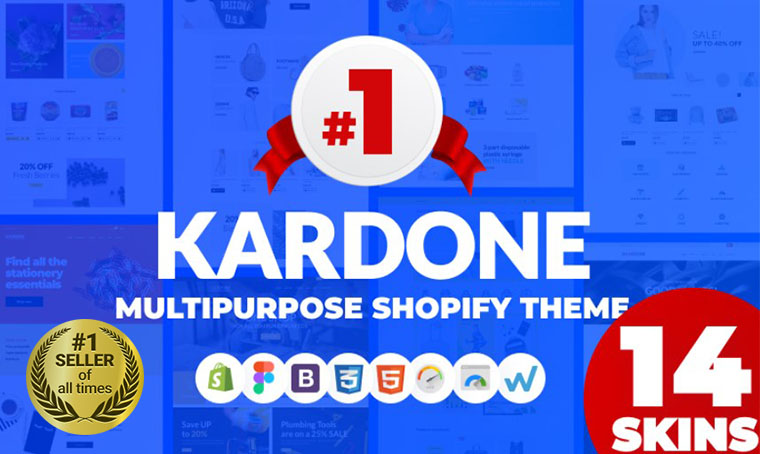 Kardone Shopify bestseller