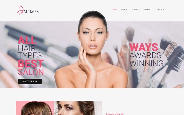 Intuitive Makess - Beauty Salon Multipurpose Classic Elementor WordPress Theme