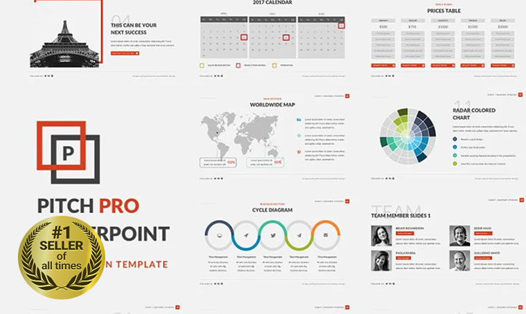 Pitch Pro PowerPoint template