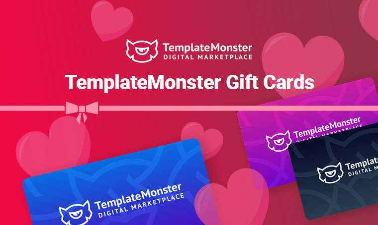 TemplateMonster gift card special offer