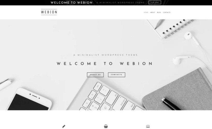 Webion Elementor WordPress Theme