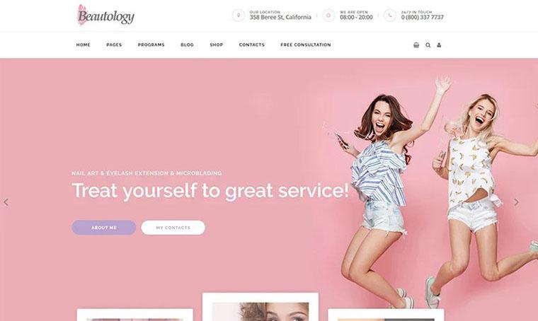 Beautolog WordPress Web Design for Women
