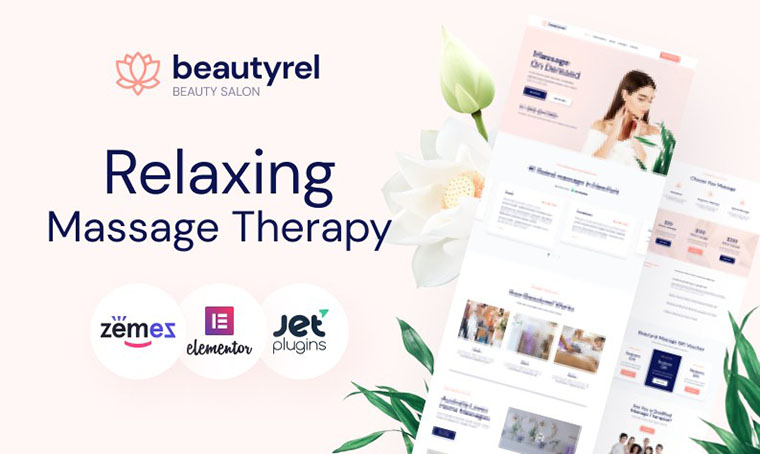 Beautyrel - WordPress Web Design for Women