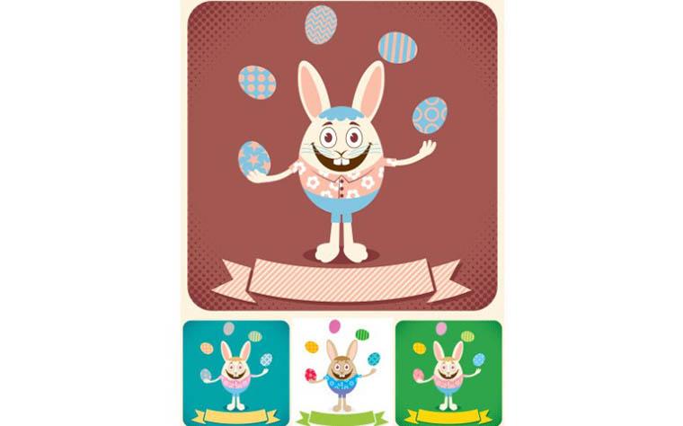 Easter Card Illustration