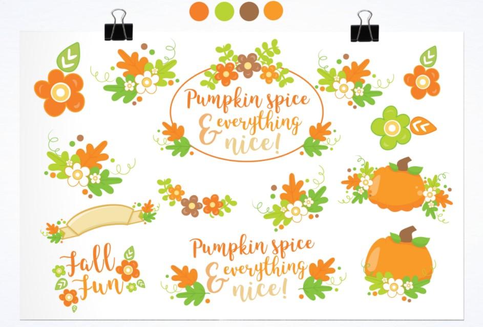 Fall Fun Illustration