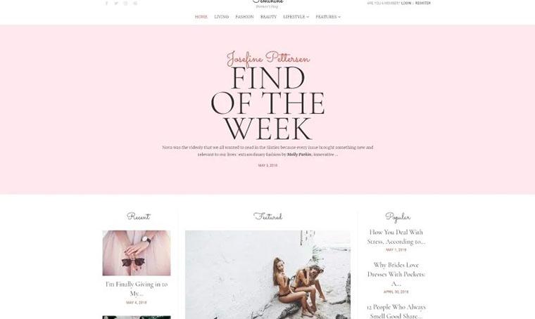 Feminime WordPress Web Design for Women