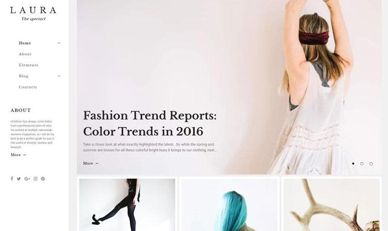 Laura Women Fashion Blog