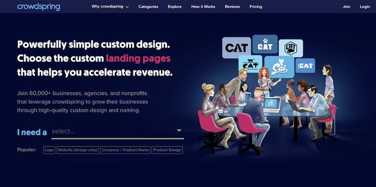 crowdspring free logo maker