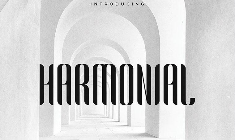 Harmonial Font Family