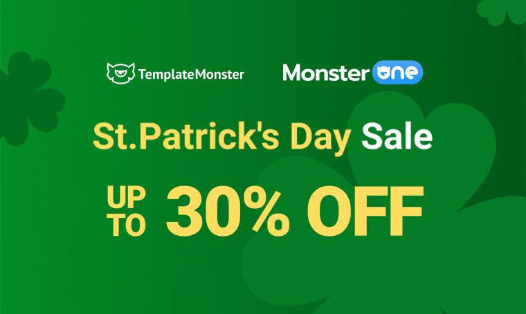 St. Patrick's Day Sale main image