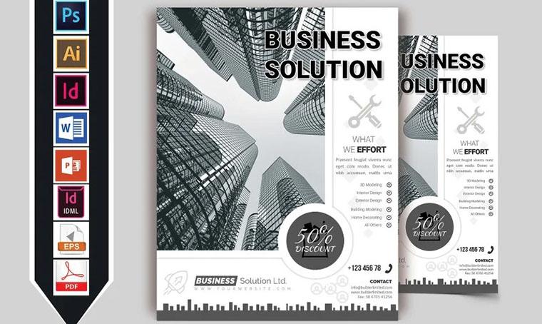 Minimal Creative Business Brochure