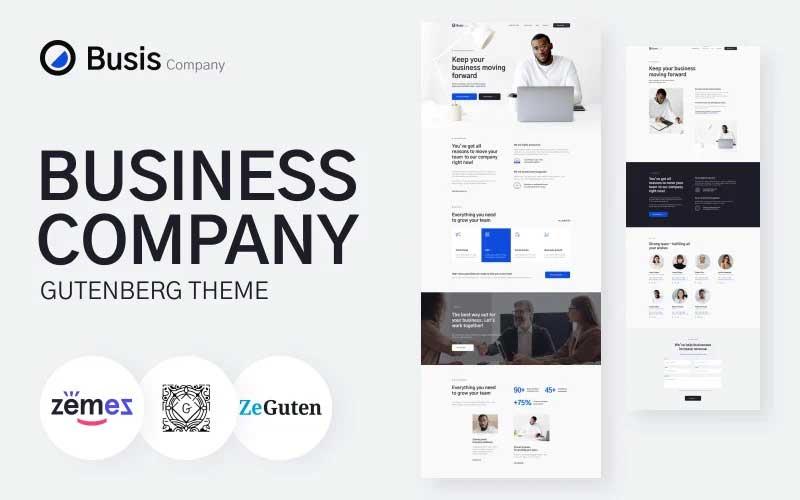 Busis Company - Business Gutenberg Theme