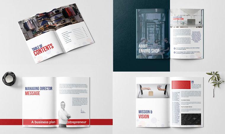 Company Profile Brochure Templates Google Docs
