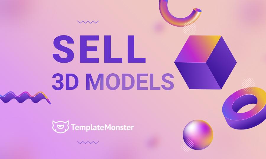 sell 3d models main image
