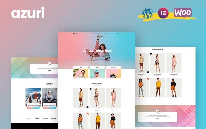 Azuri - WooCommerce WordPress Theme.