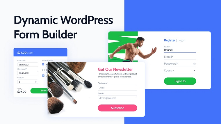 Dynamic WordPress from Builder.