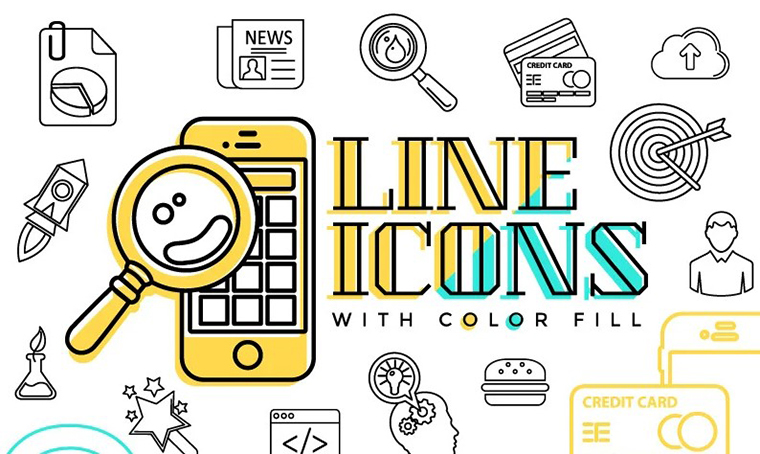 Line Icon Set - How to Sell Icons