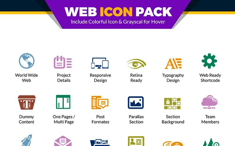 Web Icon Pack - How to Sell Icons