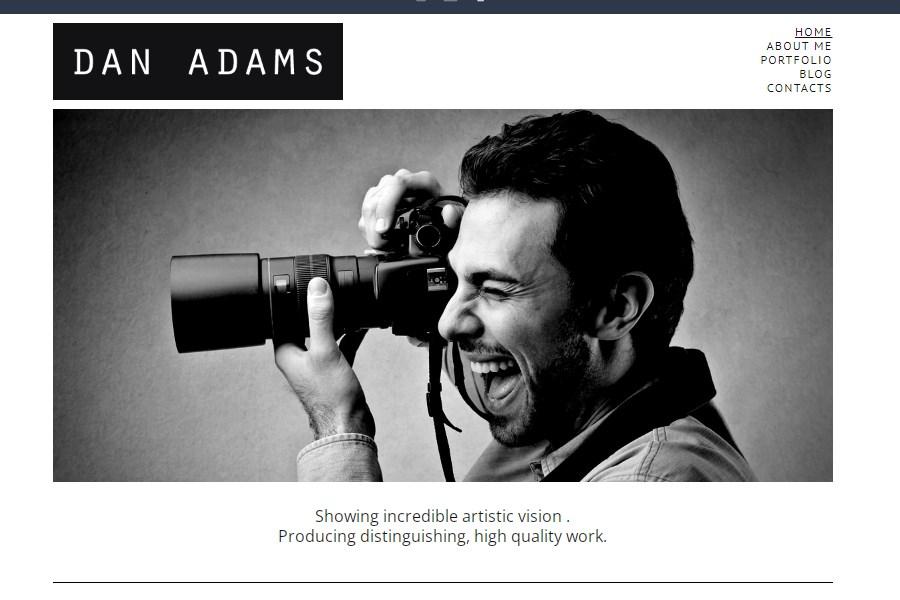 Creative Dan Adams.