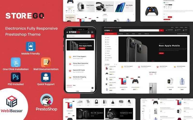StoreGo - Multipurpose Premium Electronic PrestaShop Theme