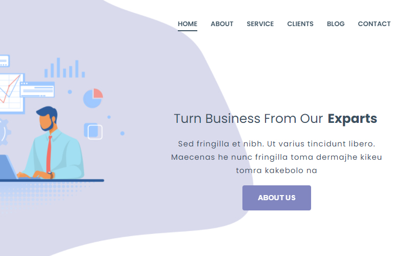Bepro - Html5 Business Consulting Landing Page Template