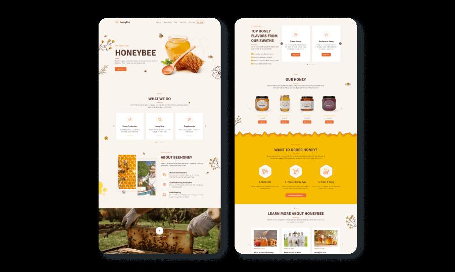 Honeybee image preview.