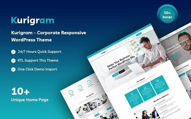 Kurigram - Responsive WordPress Theme.