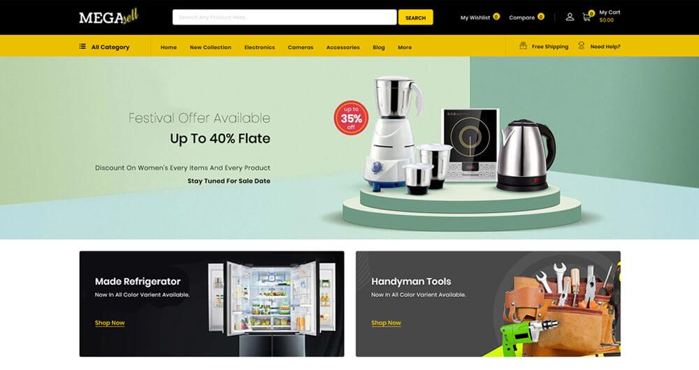 MegaSell - Multipurpose Store Shopify Theme,