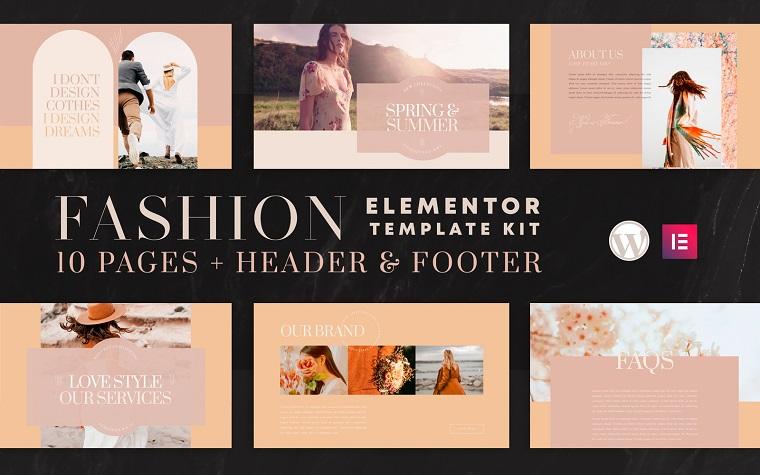 Valentina - Elementor Template Kit.