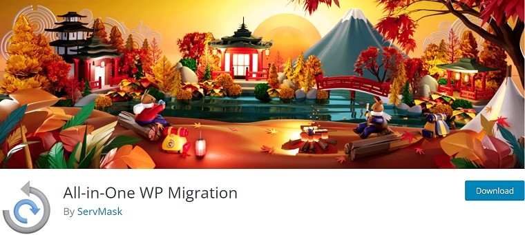 All-in-One WP Migration Plugin.