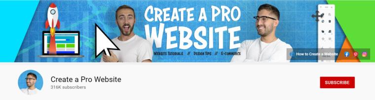 Create a Pro Website.