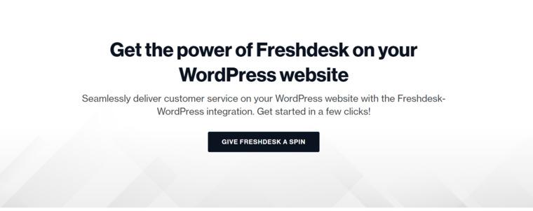 FreshDesk plugin.