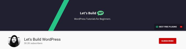 Let's Build WordPress.