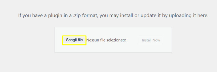Select the file.