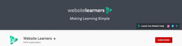Website Learners.