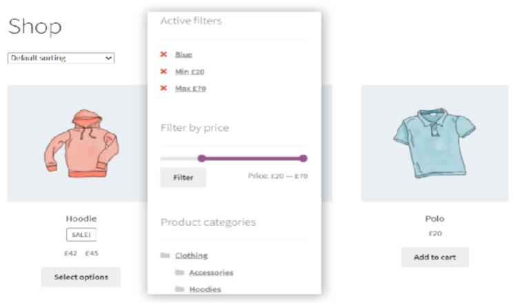 WooCommerce Ajax Product Filter.