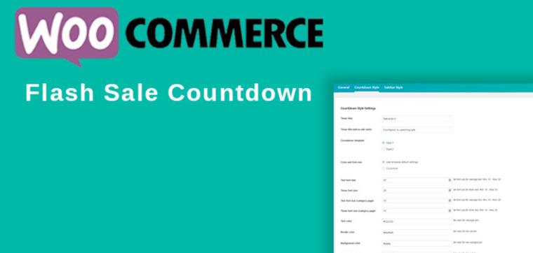 WooCommerce Flash Sale Countdown.