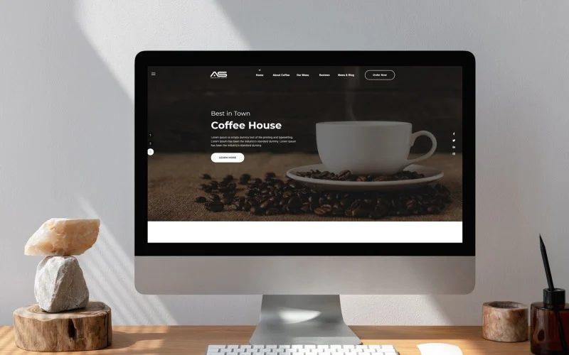 Aisha - Coffee HTML5 Landing Page Template