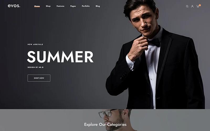Evo Elementor - Fashion Store Prestashop Theme