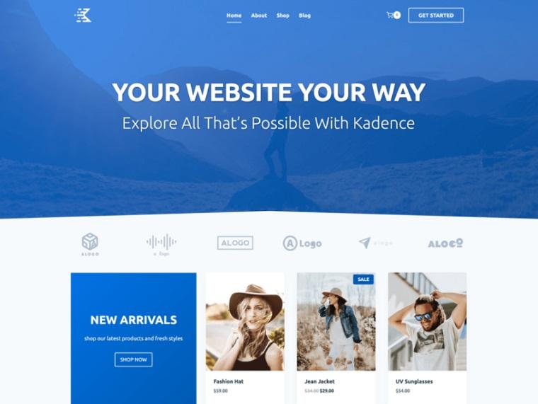 Kadence - Responsive Free WP Theme.