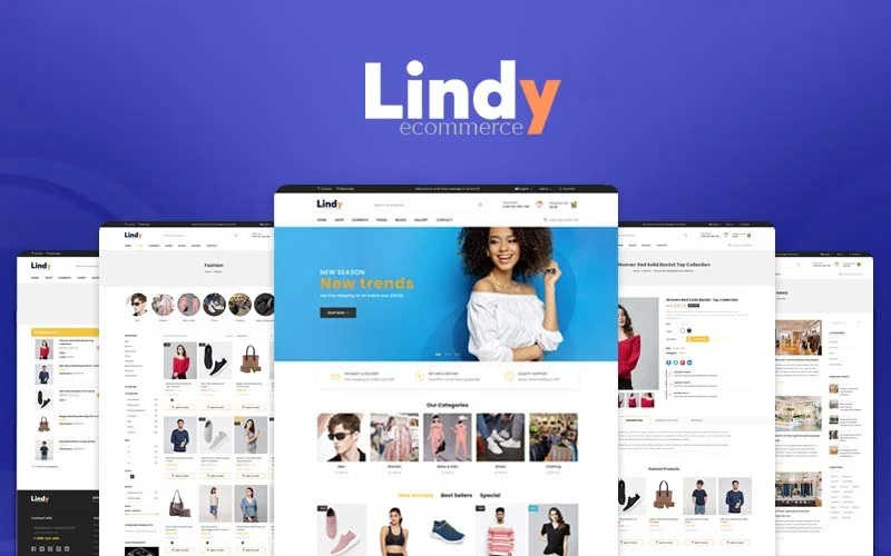 Lindy - Multi-Purpose Store Responsive Prestashop Theme